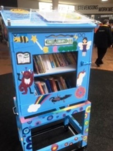 Little Street Library for Boronia Mall Launched